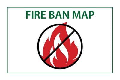 Fire Ban Map