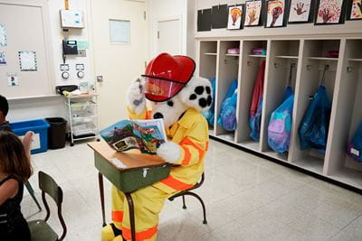 Sparky Reading Fire Safety Activity Book