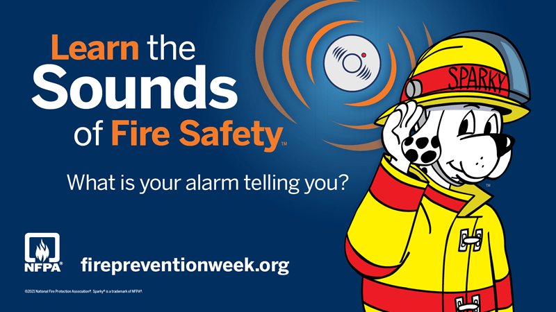 2021 Fire Prevention Week Campaign Image