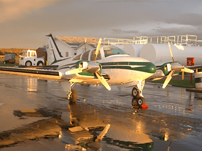 Bird Dog Beechcraft Baron 55